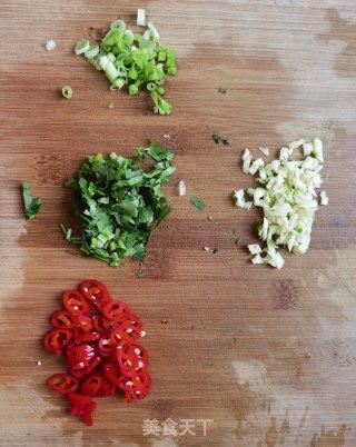 凉拌饺子皮的做法步骤 家常菜谱 第3张