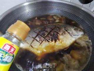 红烧平鱼的做法步骤 家常菜谱 第11张