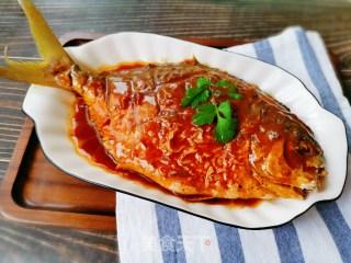红烧平鱼的做法步骤 家常菜谱 第14张