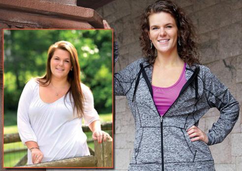 励志!妹子成功减肥100磅,分享三条减肥心得 家庭生活