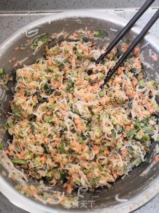 炸素丸子的做法步骤 家常菜谱 第7张