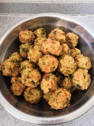 炸素丸子的做法步骤 家常菜谱 第10张