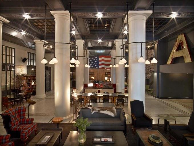 纽约丨那些你不可能错过的网红小资酒店! 旅游资讯 第19张