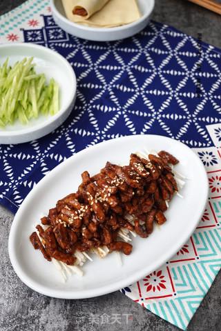 京酱肉丝的做法步骤 家常菜谱 第11张
