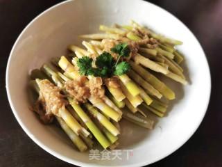 凉拌野生甜笋的做法步骤 家常菜谱 第8张