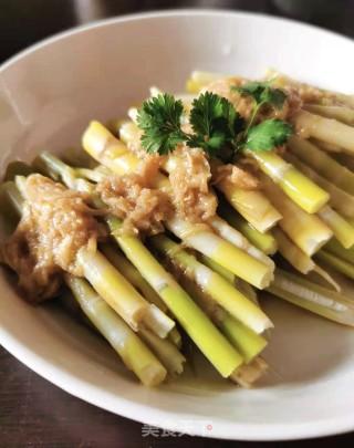 凉拌野生甜笋的做法步骤 家常菜谱 第9张