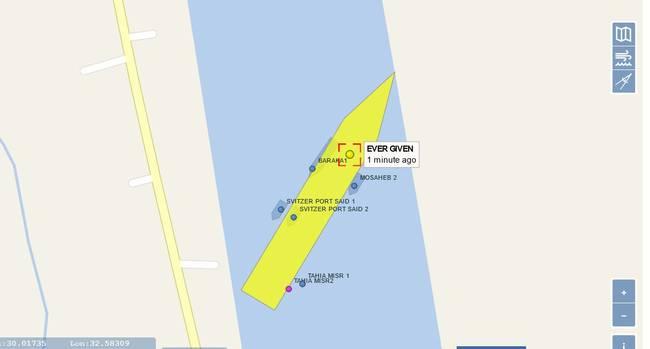 """台湾巨型货轮""""截断""""苏伊士运河 恐引发全球市场连锁反应 大千世界 第6张"""
