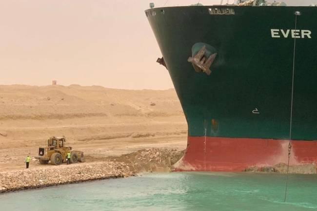 """台湾巨型货轮""""截断""""苏伊士运河 恐引发全球市场连锁反应 大千世界 第7张"""