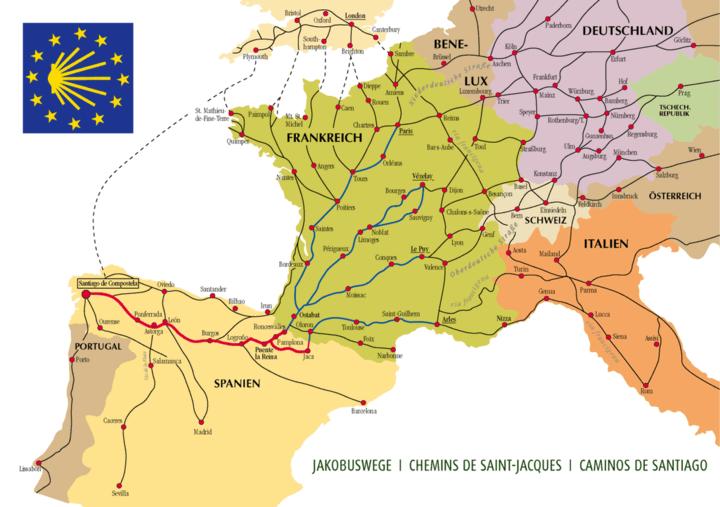 朝圣之路(法国之路)上的村庄与城镇 旅游资讯 第2张