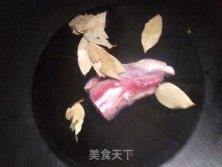 凉拌牛肉的做法步骤 家常菜谱 第2张
