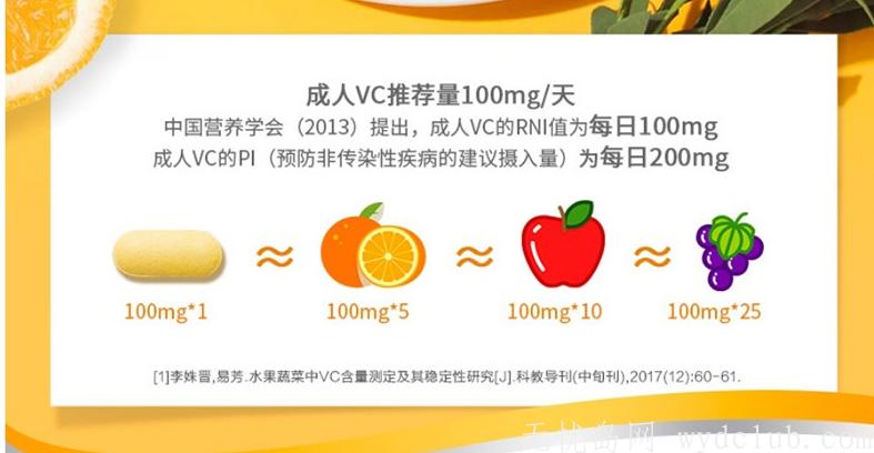 善存维生素C咀嚼片香橙口味 补充维C120片 1盒 1盒*(15+15+90)片 京东特惠 第2张