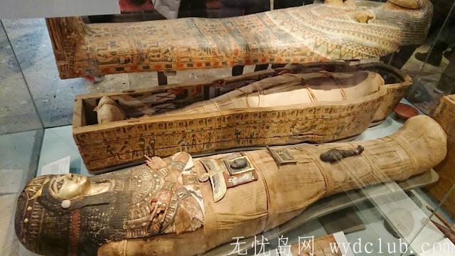连埃及豔后都被带来 大英博物馆 BRITISH MUSEUM 埃及区木乃伊 (慎入) 旅游资讯 第6张