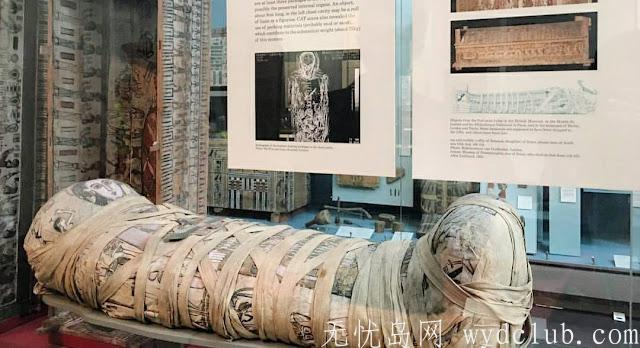 连埃及豔后都被带来 大英博物馆 BRITISH MUSEUM 埃及区木乃伊 (慎入) 旅游资讯 第9张