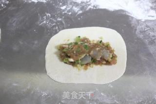 脆底喷香的猪肉大虾褡裢火烧的做法步骤 家常菜谱 第11张
