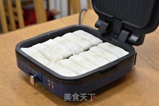 脆底喷香的猪肉大虾褡裢火烧的做法步骤 家常菜谱 第14张