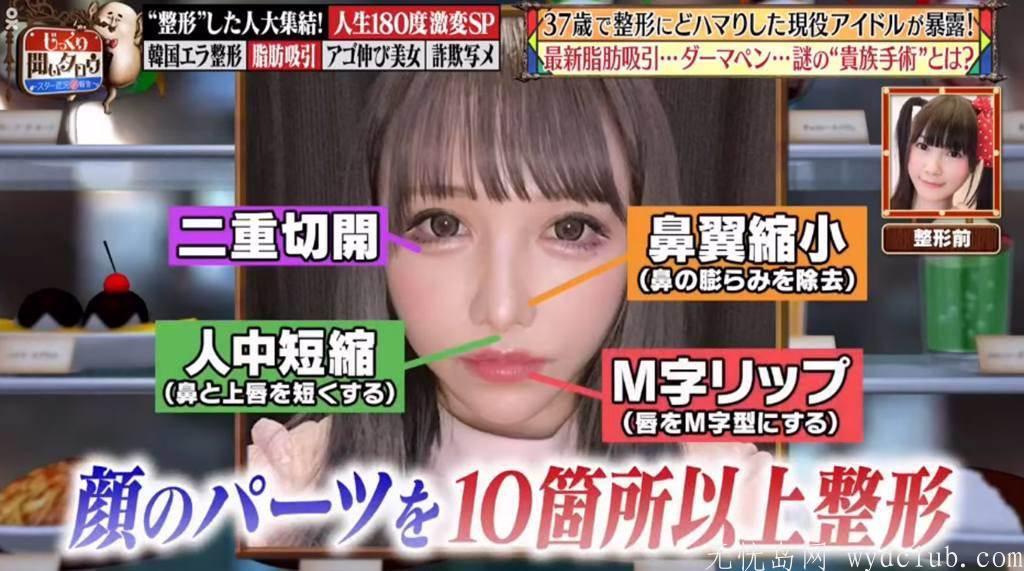 樱花妹砸880万日币天价整上癮 真实年龄曝网惊呆 娱乐界 第2张